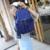 Esquilo moda nylon sólida Coreano Japão bonito estilo preppy fresco juventude meninas mochilas voga populares das mulheres saco pequeno saco de viagem