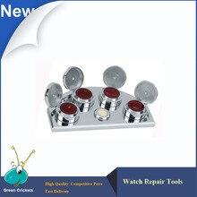 Support pour tasse à huile, support pour tasse à huile, verre à tremper dhuile, laiton poli pour la réparation de montres et de montres, tendance 30180