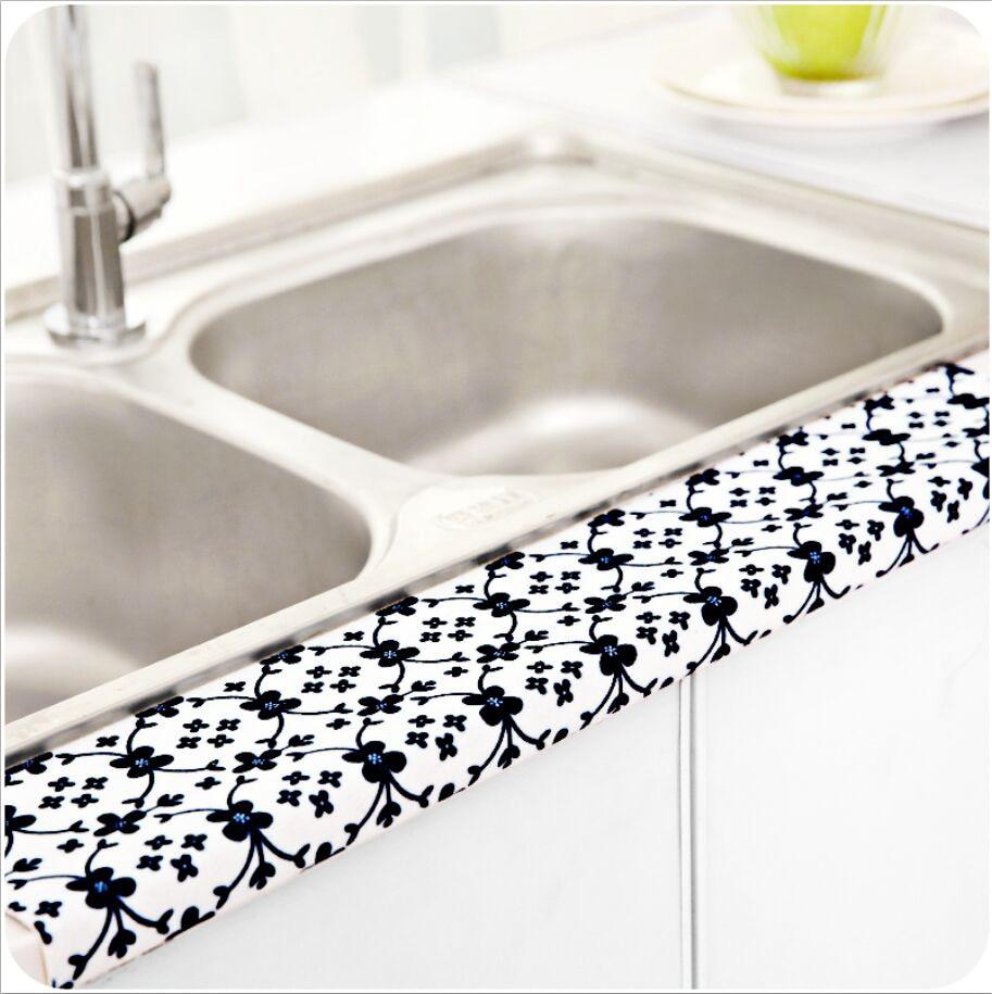 high grade kitchen sticker self adhesive sink vegetables basin waterproof sticker bathroom basin toilet absorbent stickers decor bathroom basin furniture