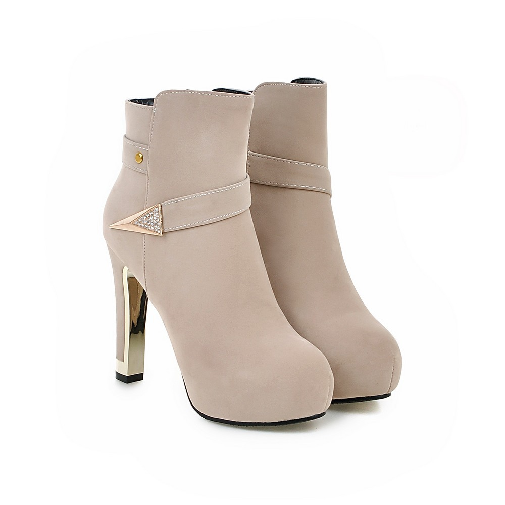 High Quality Chunky Heel Boots-Buy Cheap Chunky Heel Boots lots ...