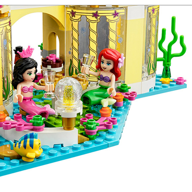 Yamala-Princess-Undersea-Palace-Girl-Friends-Building-Blocks-402pcs-Bricks-Toys-For-Children-Compatible-With-Legoingly-Friends-3