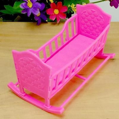 unid pink mini muebles de casa de muecas de juguete mueca para la muchacha americana
