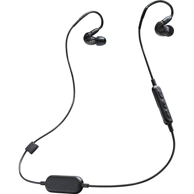 Date SE215 écouteurs sans fil Detchable écouteur SE215 BT1 Hi fi stéréo câble séparé casques intra auriculaires écouteurs Bluetooth-in Écouteurs et casques from Electronique    1
