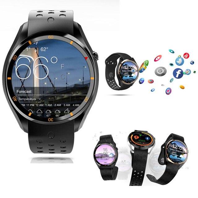 Новинка 2017 года I3 Смарт часы с 512 МБ + 8 ГБ ОС Android 5.1 MTK6580 ЦП поддержки sim-карты Bluetooth, Wi-Fi GPS SmartWatch для iOS и Android