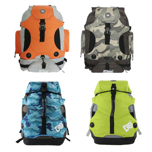 Image 1 - DC 810D Polyester Fabric Inline Speed / Slalom Roller Skates Backpack Travel Camping Camouflage Multi function Skating Bags BB2