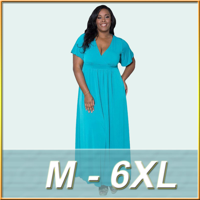 Maxi dress for the larger lady - Maxi dress style