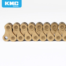 KMC X9 Golden Alloy Iron 9/18/27 Speed Bike Chain 116 Links