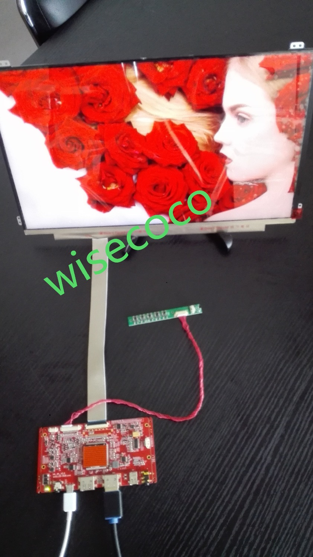 Moniteur LCD 15.6 pouces 4 K 3840*2160 avec Kit de carte de contrôle HDMI 40 broches pour projet