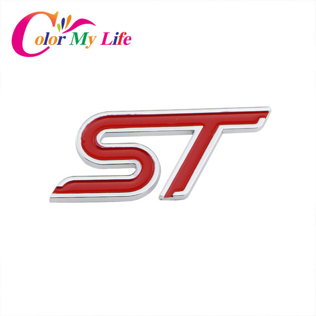 color my life abs 3d stickers st logo sticker tail s