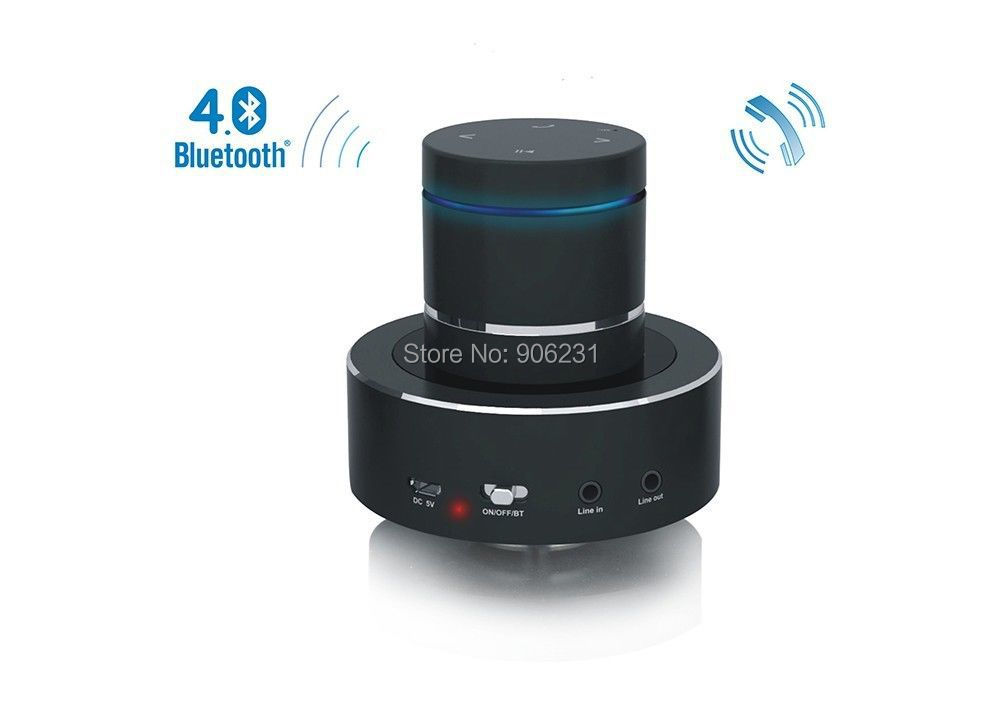 Free Shipping 360 degree S8BT 26W Vibration Speaker BT Bluetooth 4 0 Phone Function NFC