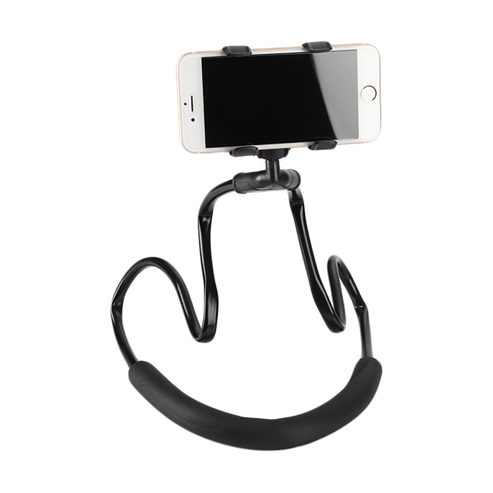 ET Lazy Neck Phone Holder 360 Degree Rotation Flexible Phone Selfie Holder Stand for iPhone X 8 7 6 Plus Samsung S8 S9 Huawei