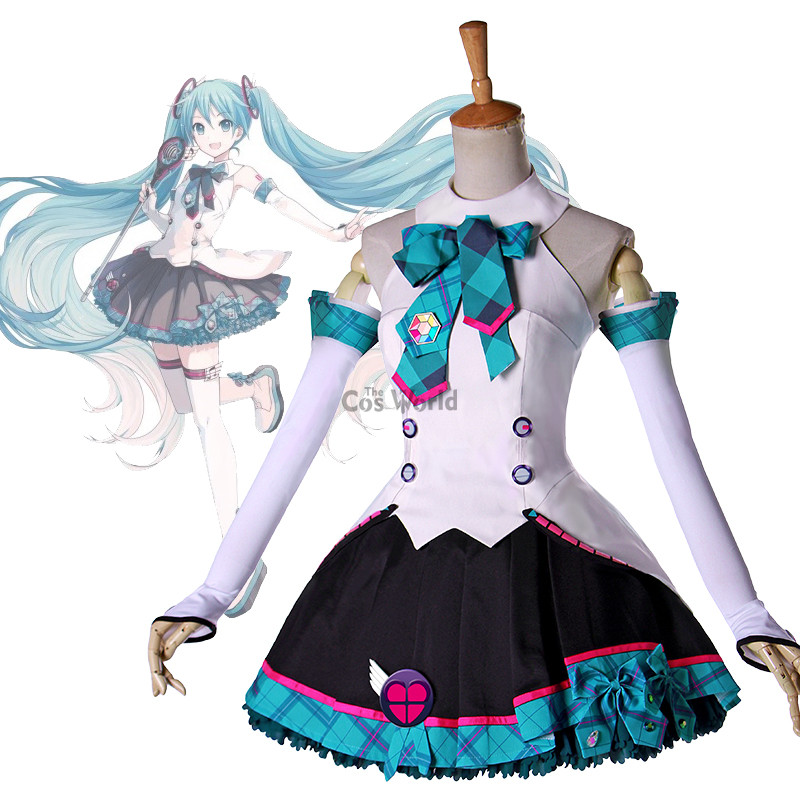 2017 Vocaloid Hatsune Miku MAGICAL MIRAI Uniform Dress Outfit Anime Cosplay Costumes on ...