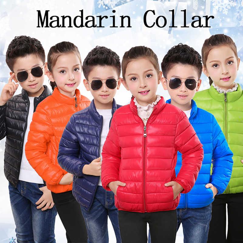 Детские зимние куртки, хлопковая пуховая куртка для девочек, весенне-осенняя теплая куртка с капюшоном для маленьких мальчиков, Детская парка, верхняя одежда