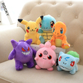 Покемон плюшевые игрушки Пикачу Freeshipping! Peluches де pokemon 25 см детские игрушки Пикачу кукла чак плюшевые игрушки куклы аниме для детей игрушки
