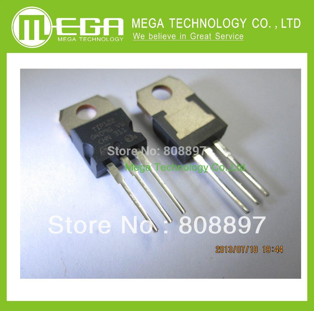 Free Shipping 100PCS TIP122 TO-220 NPN 100V 5A