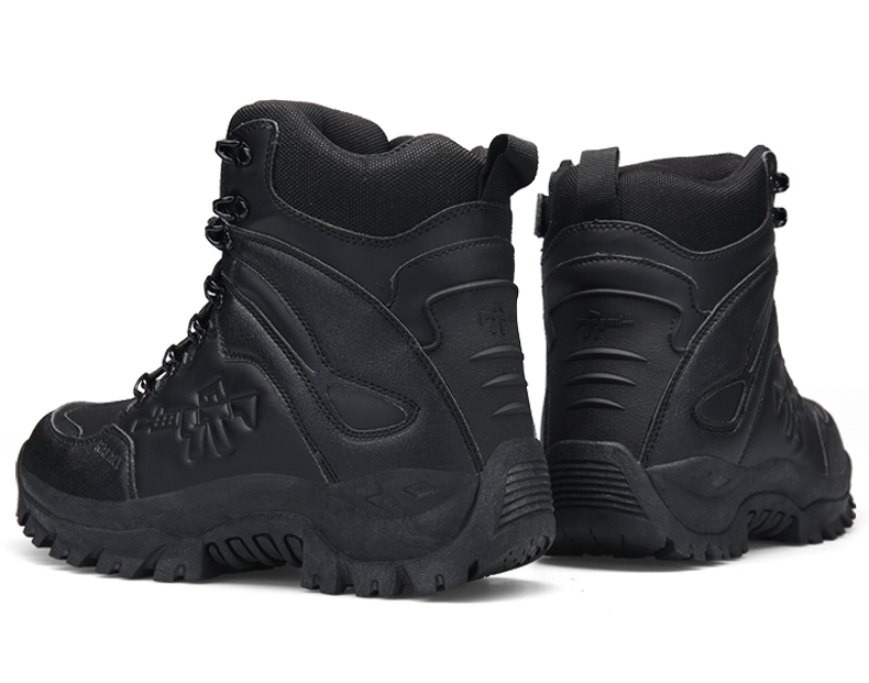 Brand Men's Boots Military boot Chukka Ankle Bot Tactical Big Size Army Male Shoes Safety Combat Mens Motocycle Boots (14)