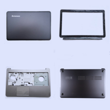 все цены на 100% New Laptop LCD Back Cover Top Cover/Front Bezel/Palmrest upper Case with&non-touchpad/Bottom case for Lenovo IdeaPad U510 онлайн