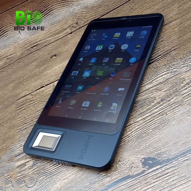 Biosafe HFSECURITY 7'' Touch Screen Tablet Android 5.1