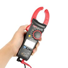 купить Professional Digital Clamp Meter Multimeter AC/DC Voltage Current Resistance Capacitance Diode Continuity NCV Temperature Tester по цене 4251.76 рублей