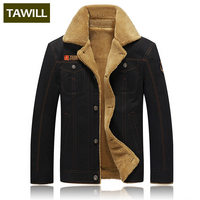TAWILL Men Jacket Jean Military Plus 5XL Army Soldier Cotton Air Force One Male Brand Clothing