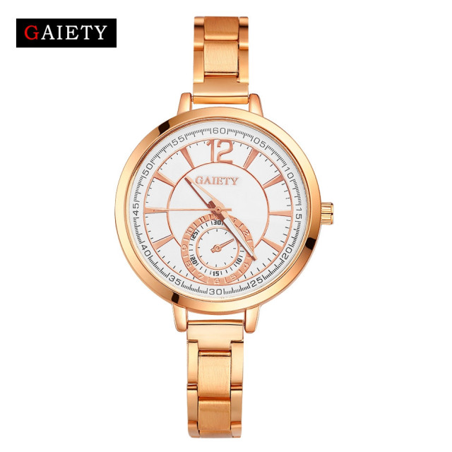 Best Deal Women Bracelet Watch Fashion Women Chain Analog Quartz Round Wrist Wat