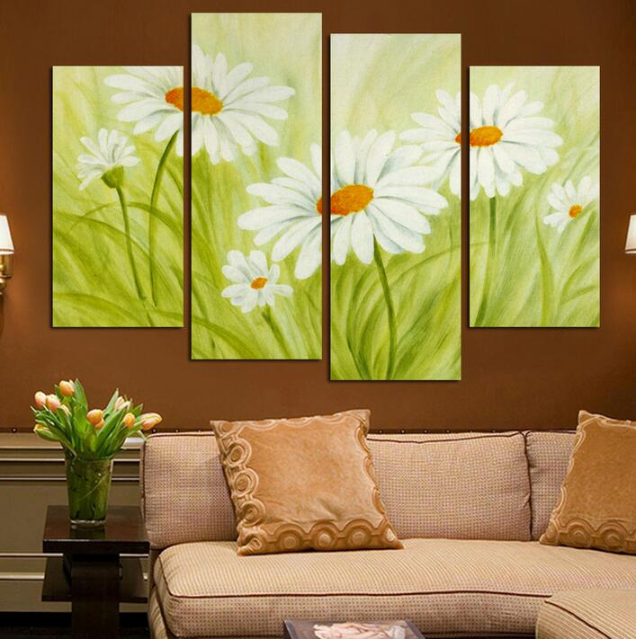 Free Shipping Home Decorators: 4 Square Free Shipping Art Canvas Painting Home Decor