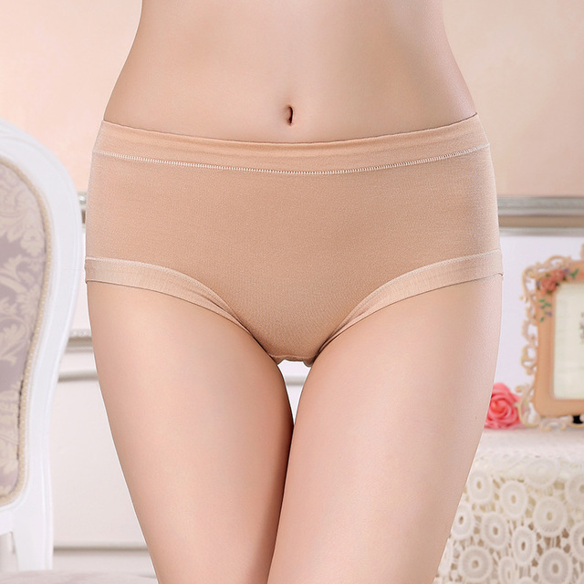 Menstrual Period Leak Proof Underwear Women Modal Cotton Panties Ladies Seamless Lengthen Panties Physiological Female 2