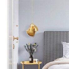 Modern Iron Nordic Loft Light Kitchen Hanging Vintage Industrial Pendant Luminaire Singe Art Deco Hanglamp Dining Room