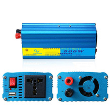 купить Pure Sine Wave Transformer Peak Power 1000W Car Inverter 12V 24V to 220V 110V Auto Vehicle Supply Car Voltage Converter дешево