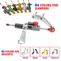 Steering Damper Stabilizer Bracket Kit For Honda CBR954RR 2002 2003 CBR 954 RR 954RR Motorcycle Accessories Parts
