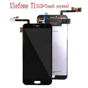 Image 1 - עבור Ulefone T1 LCD תצוגת מסך מגע Digitizer עצרת עבור Ulefone תאומים Pro LCD החלפת תצוגה