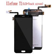 ل Ulefone T1 شاشة الكريستال السائل مجموعة المحولات الرقمية لشاشة تعمل بلمس ل Ulefone الجوزاء برو شاشة الكريستال السائل استبدال
