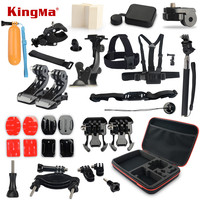 KingMa Gopro Accessories Mounts Go Pro Accessories Set Gopro Hero 4 3 2 Kit For Xiaomi
