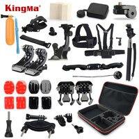 KingMa Gopro Accessories Mounts Go Pro Accessories Set Gopro Hero 4 3 2 Kit For Xiaomi