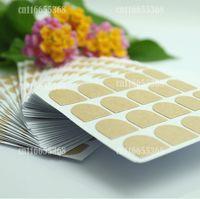 Sheet Nail Art Glue False Nails Tips Double Side Adhesive Sticker Tape Clear 100 Sheets