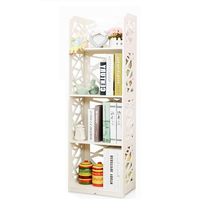 Simple And Modern Environmental Protection Small Bookshelf Children  Bookcase Floor Dormitory Storage Shelves