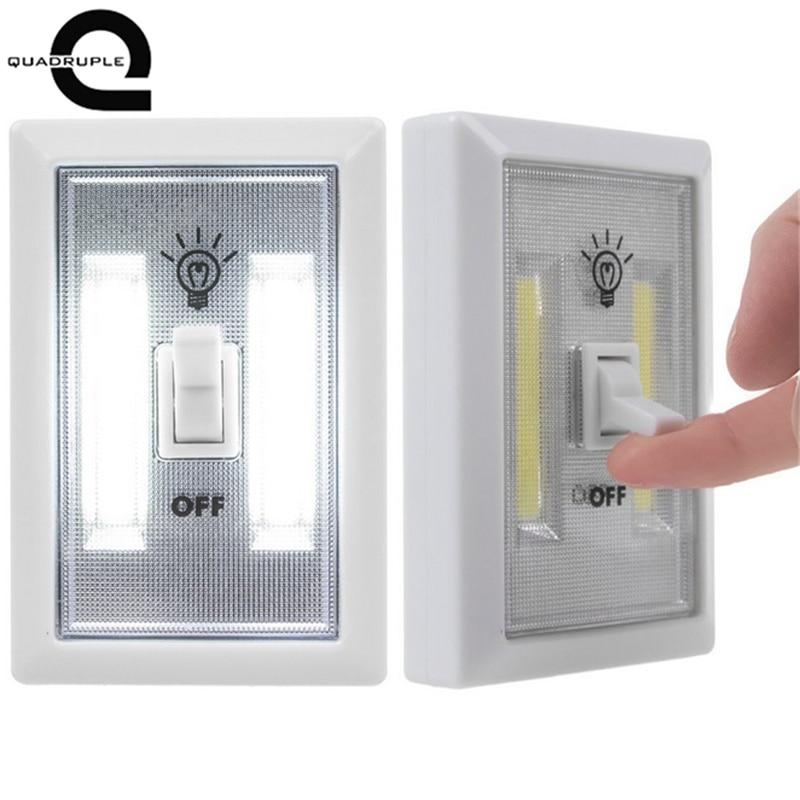 Quadruple Magnetic Led Night Light Ultra Bright Mini Cob
