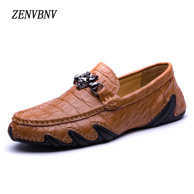 ZENVBNV High Quality Summer Cow Genuine Leather Men Shoes Soft Loafers Fashion Brand Men Moccasins Flats Comfy Driving Shoes cbjsho brand men shoes 2017 new genuine leather moccasins comfortable men loafers luxury men s flats men casual shoes