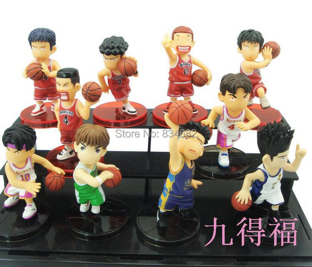 Free Shipping Japanese Sakuragi Rukawa Anime Slam Dunk PVC