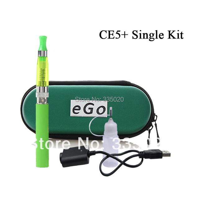 eGo CE5+ Electronic Cigarette Starter Kits 650mah 900mah 1100mah Single eGo CE5+ Ego Zipper Carry Case Instock Free Shipping