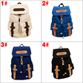 New Korea Vintage Canvas Backpack Girl Women Shoulder School Satchel Bag Rucksack Backpack 88 BS88