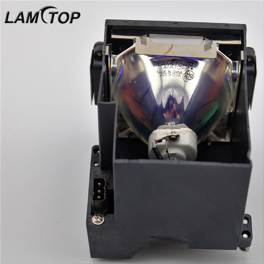 LAMTOP POA-LMP128/610 341 9497 compatible lamp with housing for PLC-XF1000/PLC-XF710C free shipping high quality lamtop compatible bare lamp 610 293 2751 for plc xu35 plc xu308 plc xu358c