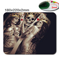Hot Selling Cool Creative Poker Design Mouse Mat Custom High Quality Skid Durable Fashion Mouse Pad