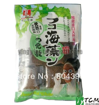 Seaweed Face Mask 20 Packets 12g Natural Import Particles The pure Beauty White