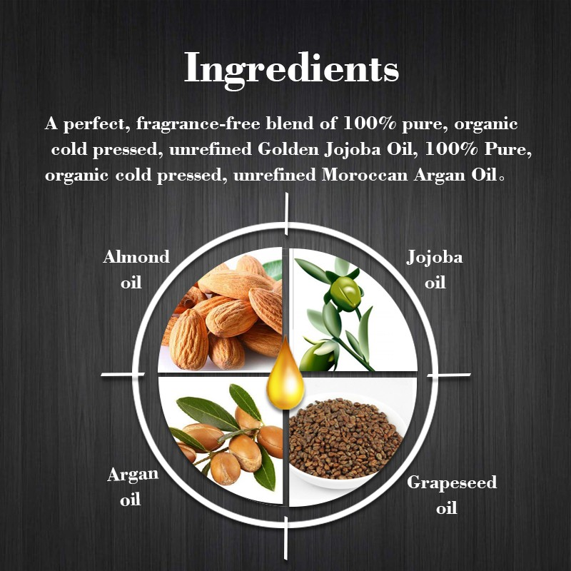 HTB1ZbdHLpXXXXasXFXXq6xXFXXXT - Preboily Beard Oil, Pure Blend of Natural Ingredients with FREE Balm