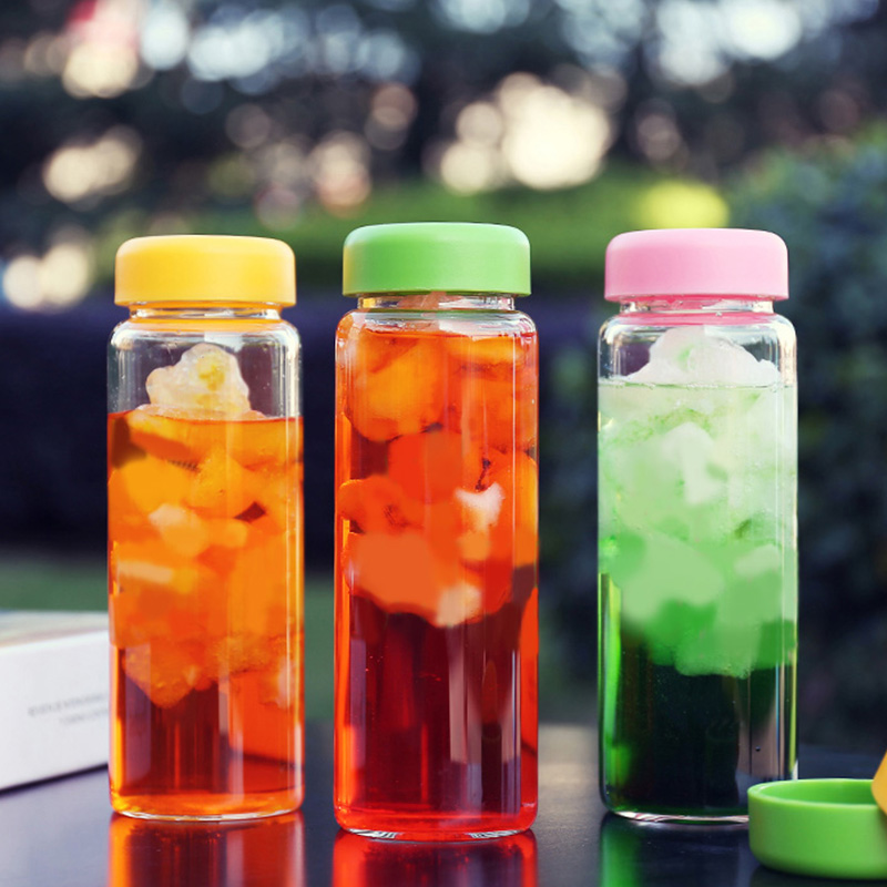 creative Water bottle juice tea coffee nice readily Lightweight portable space bottle with bag free shipping 301-0471