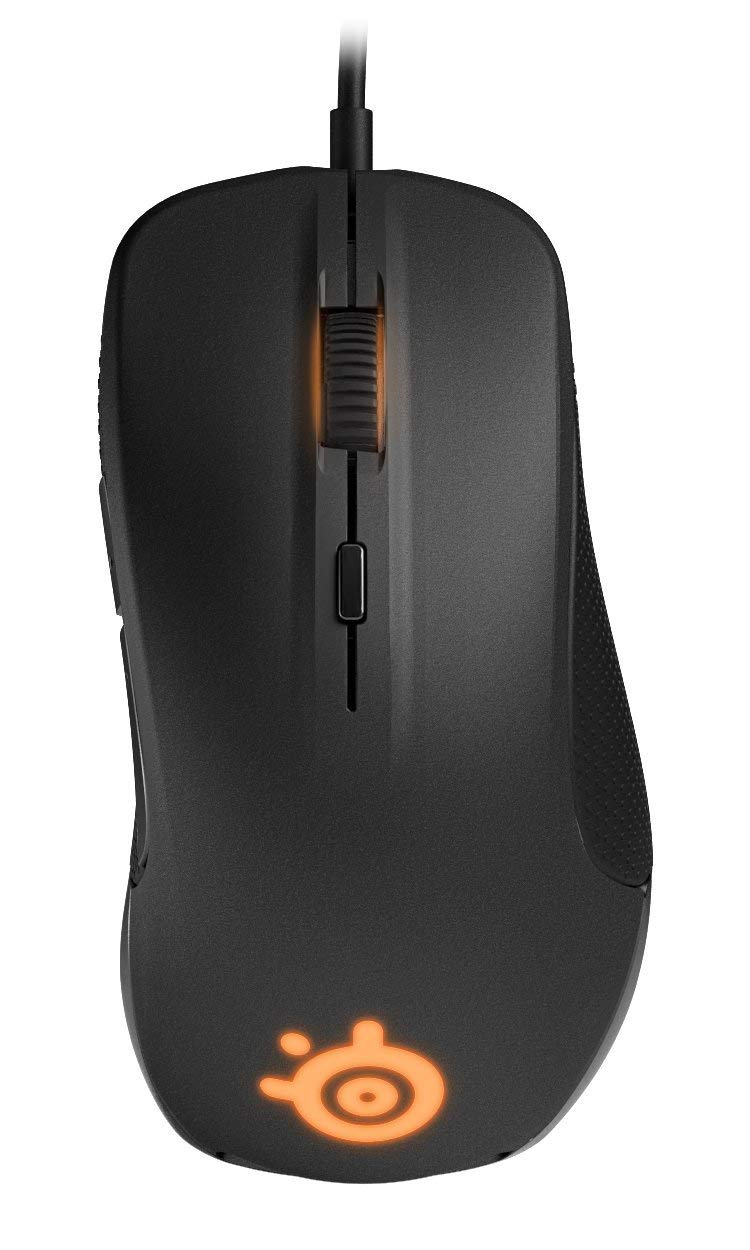 Steelseries Rival 300S Gaming Mouse Wired 7200 DPI RGB Optical Mouse Gamer USB Mice For Dota 2