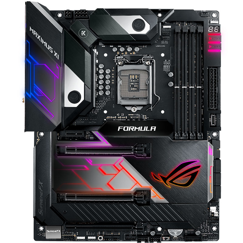 ASUS Maximus XI Formula Player Country Computer Game Board Z390 M11F 1151pin Support I9 <font><b>9900K</b></font> 9700K image