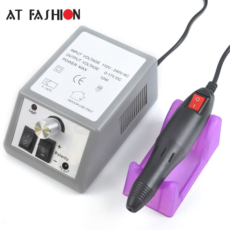 Electric Nail Drill Manicure Set Pen Machine with Drills 6 Bits Pedicure Manicure Nail Art Equipment Electronic Nail File