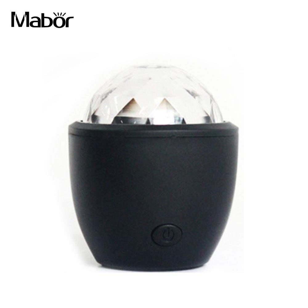 General DJ Light Atmosphere Lamp Stage Light Festival Accessory KTV Decor USB Manual Switch Luminous Fashion Sound Control